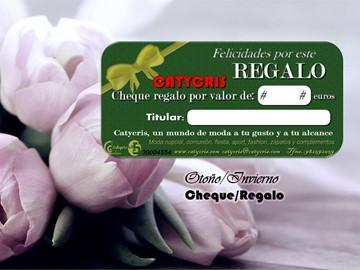 ¡¡Nuevo Cheque Regalo Virtual!!